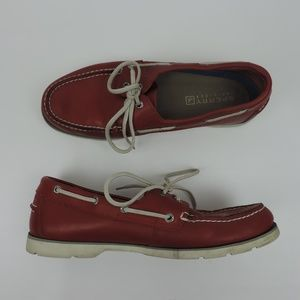 Sperry Top Sider Men Size 10 Authentic 2-Eye Shoes